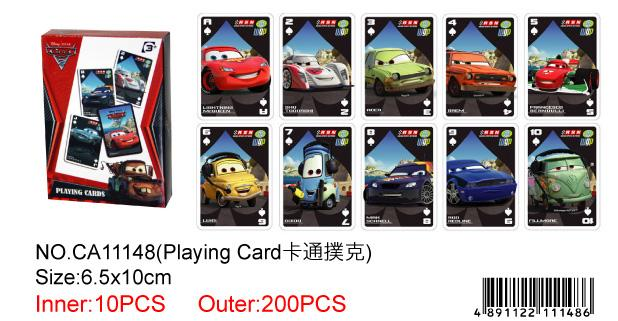 CARS PLAYING CARD