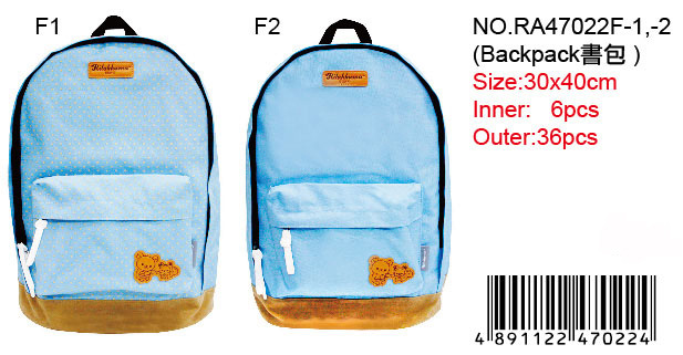 RILAKKUMA BACKPACK -BLUE