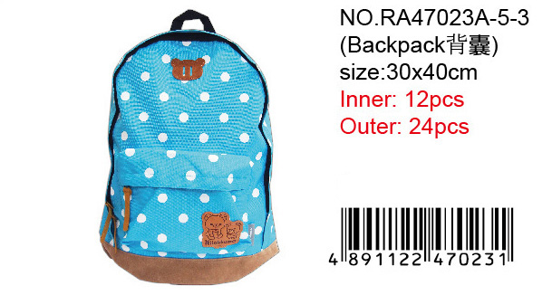 RILAKKUMA BACKPACK-BLUE