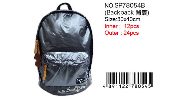 SNOOPY BACKPACK -BLACK