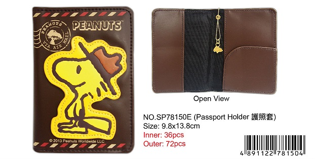 SNOOPY PASSPORT HOLDER